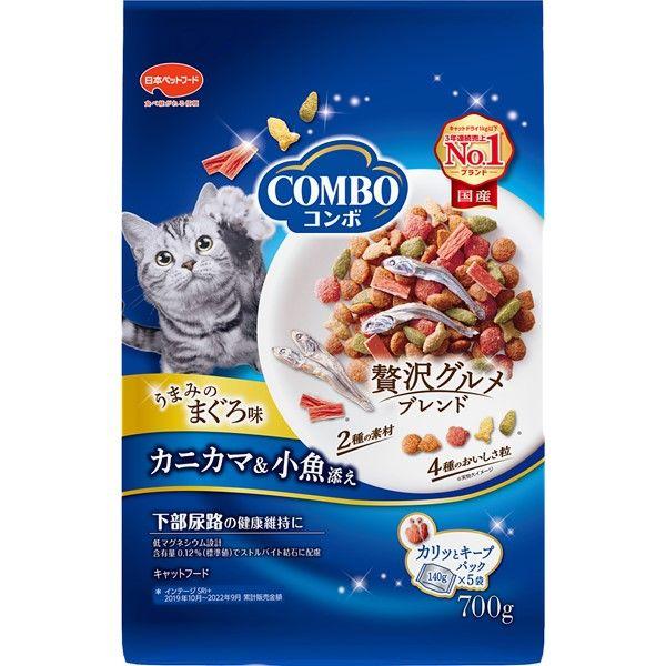 コンボ キャット まぐろ味・カニカマ