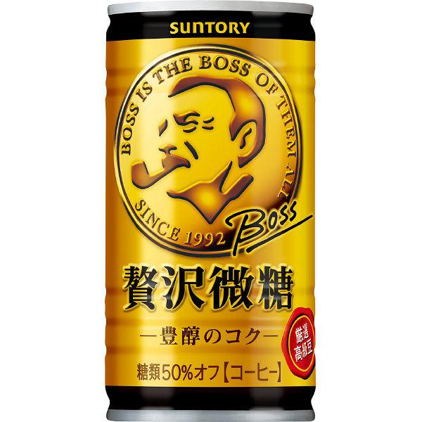 ボス 贅沢微糖 185g 60缶