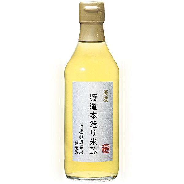 内堀醸造 美濃特選本造り米酢 360ml