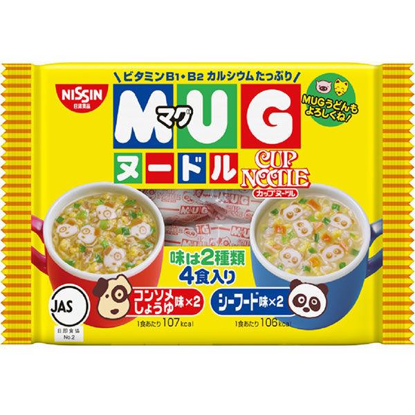 日清マグヌードル 4食入
