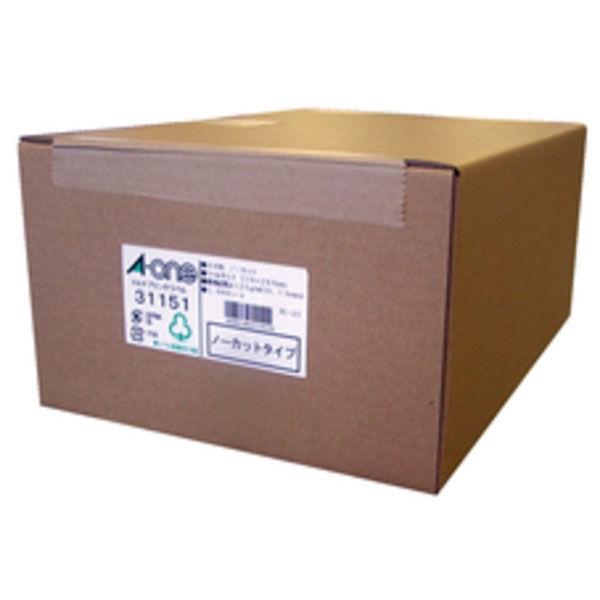 エーワン マルチプリンタラベルノーカット 31151 1箱(1000シート入) (取寄品)