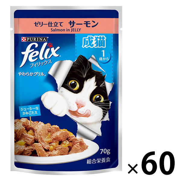 箱売 フィリックス やわらか成猫サーモン