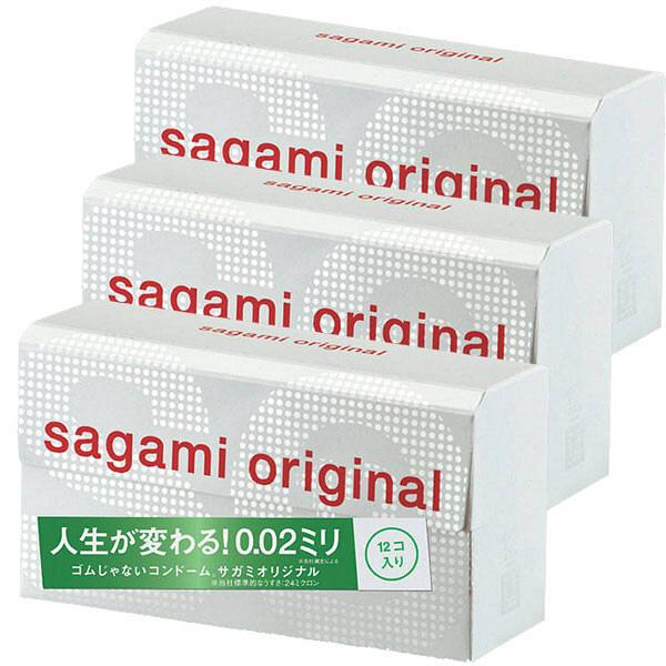 サガミオリジナル002 12個×3箱 M
