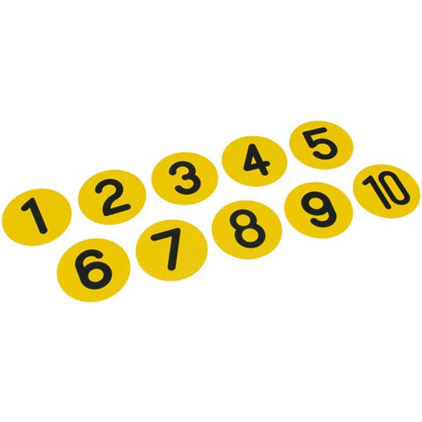 トーエイライト アクティブナンバープレート プレート B6256 1セット(10枚入) (取寄品)