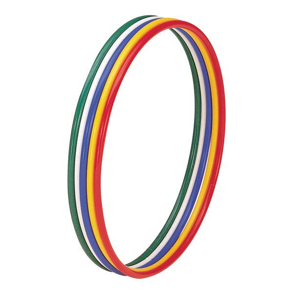 トーエイライト 体操リング40(5色1組) 内径40cm T2306 1セット(5個入) (取寄品)