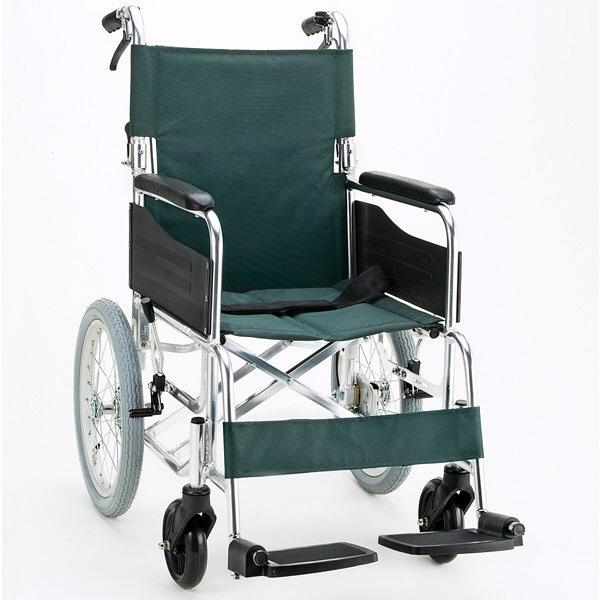 マキテック セレクトシリーズKS30 グリーン KS30-4043GR 介助用 背折れ式 アルミ製 介助ブレーキ付き (取寄品)