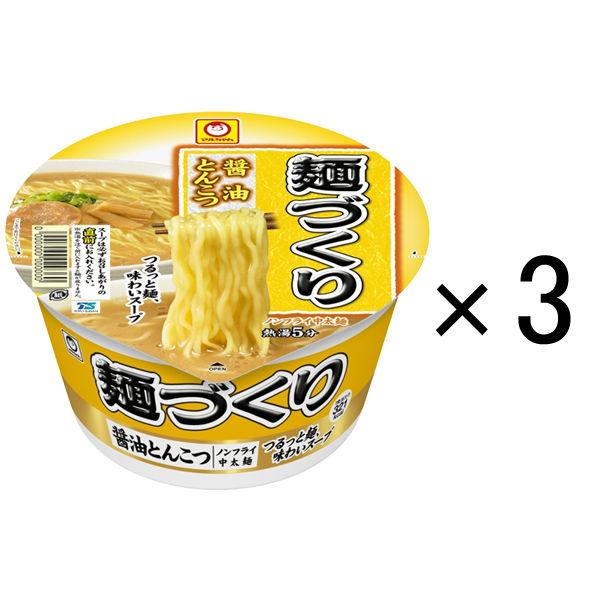 麺づくり 醤油とんこつ 89g 3食
