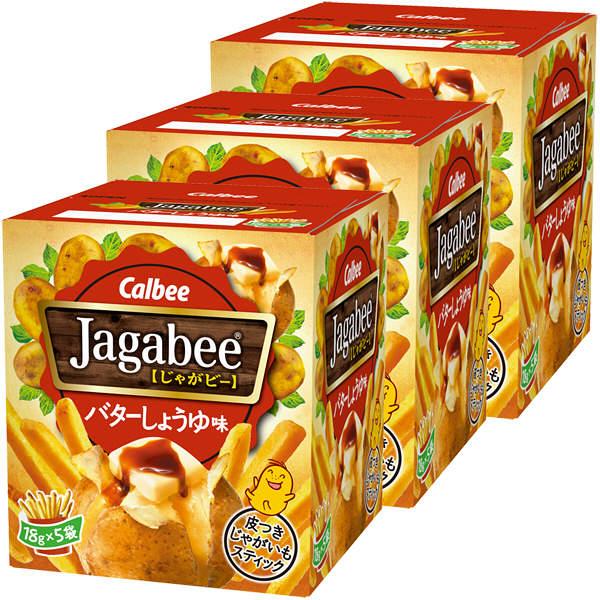 ジャガビー バターしょうゆ味 3箱
