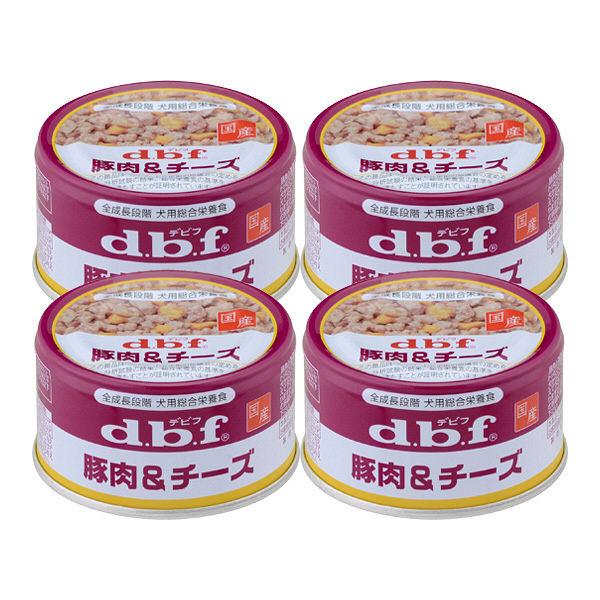 デビフ 豚肉&チーズ 4缶
