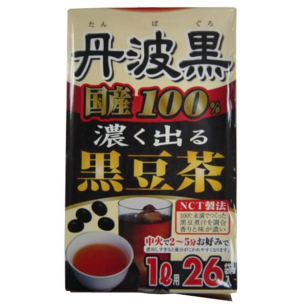 丹波黒100%黒豆茶 26包入
