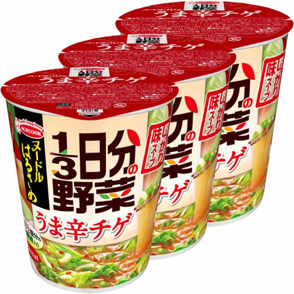 ヌードルはるさめ1/3日分の野菜うま辛チ