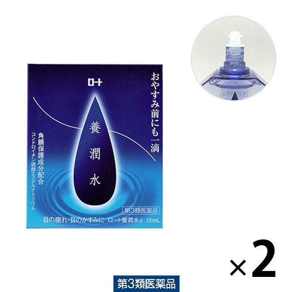 ロート養潤水アルファ 13ml×2本