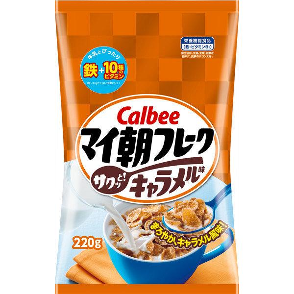 カルビー マイ朝フレークキャラメル味