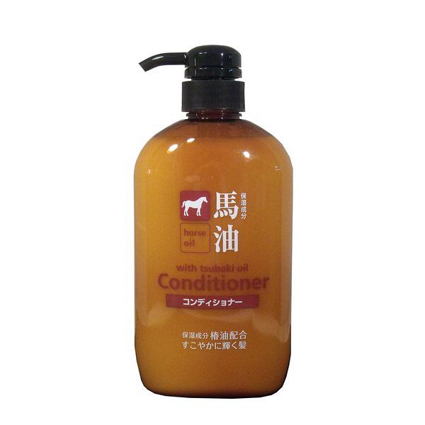 馬油 コンディショナー ポンプ 熊野油脂