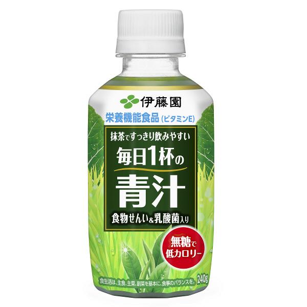 毎日1杯の青汁無糖タイプ240ml24本