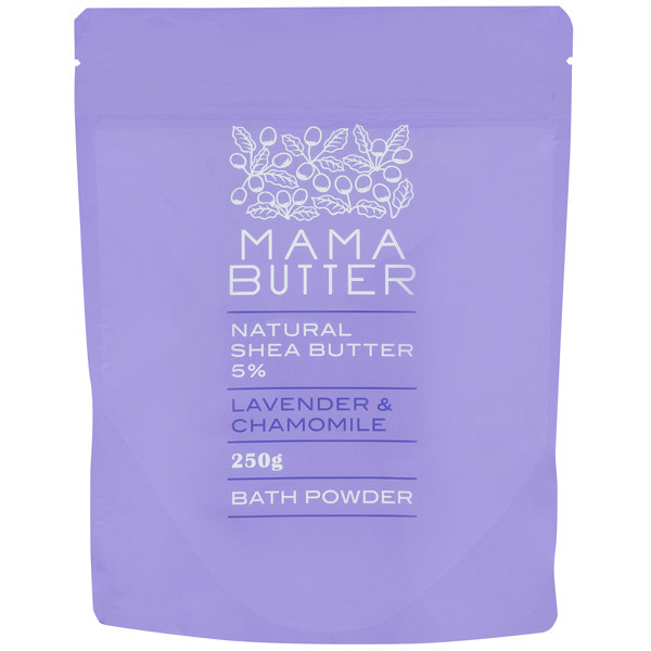 ママバター バスパウダーラベンダー&CA