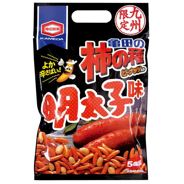 九州限定 亀田の柿の種 明太子味