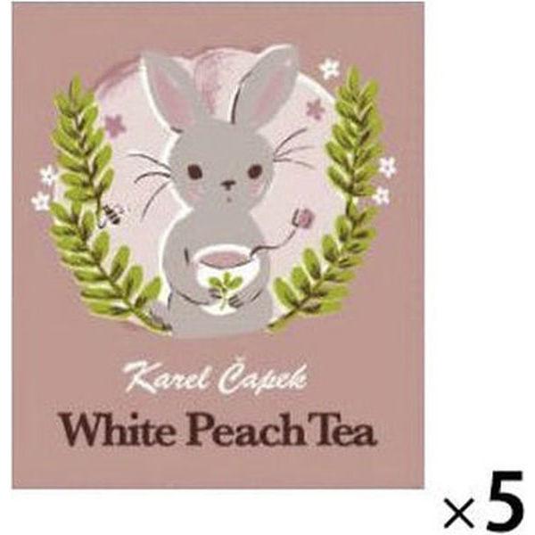 ホワイトピーチティーTB 5バッグ