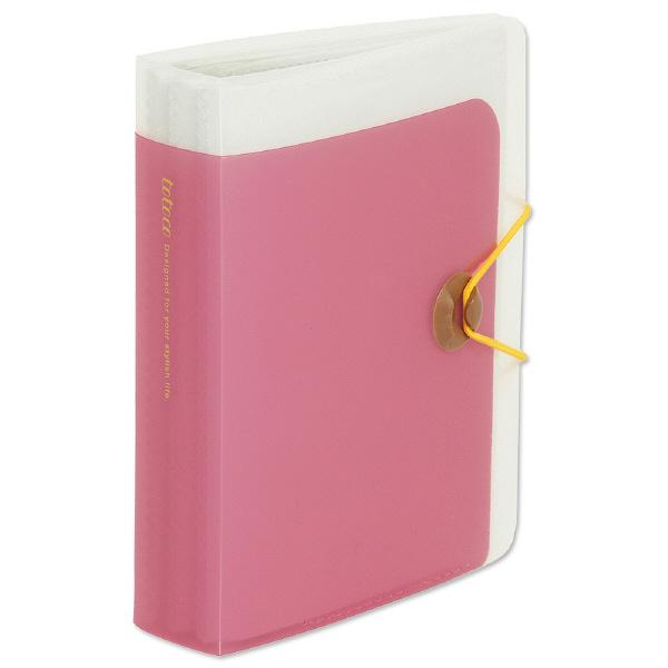 totocoはがきホルダー 透明ピンク