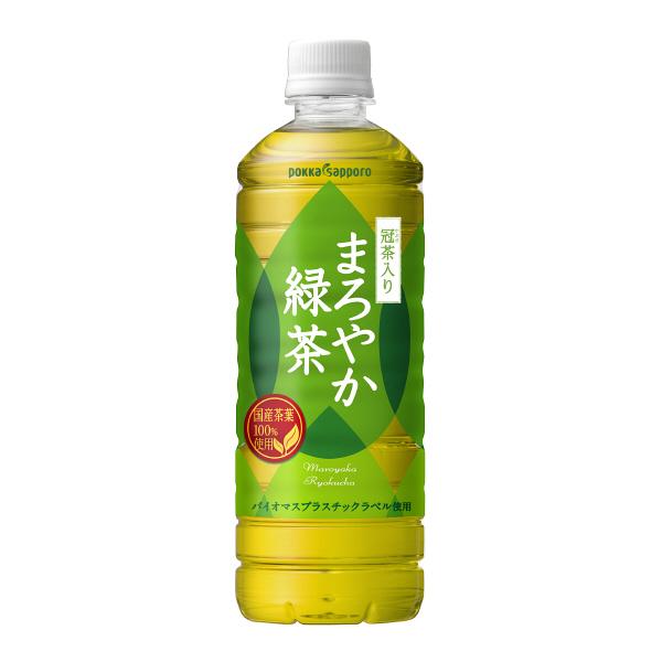まろやか緑茶 600ml 24本
