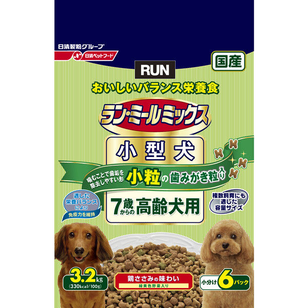 ラン・ミール小型犬7歳高齢犬3.2Kg