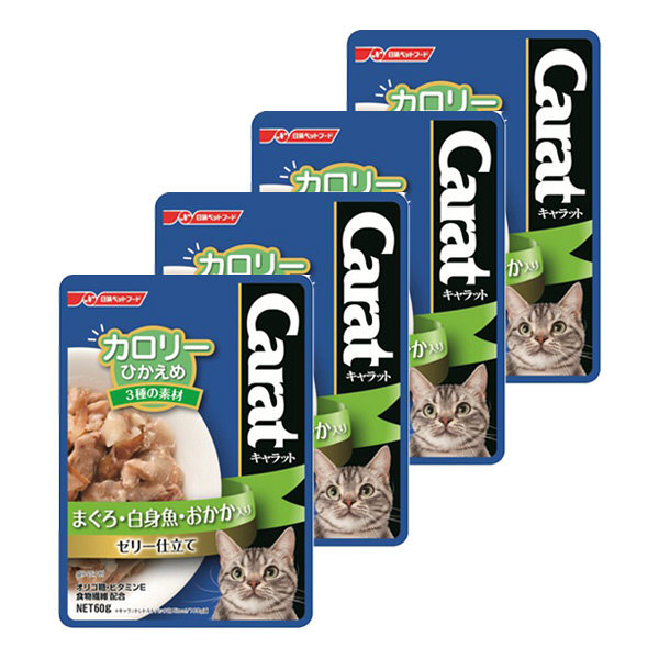 キャラット カロリーひかえめ3種素材4袋