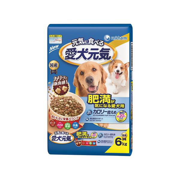 愛犬元気 肥満が気になる愛犬用6.0kg