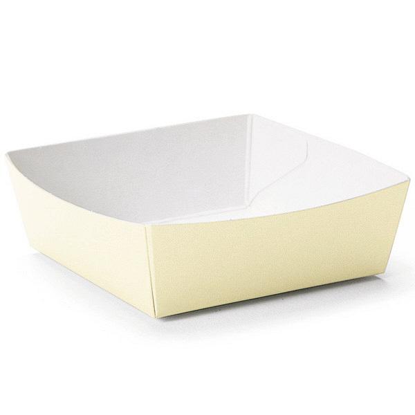 天満紙器 PC-01 カラーココット(バニラ) 4499035 1箱(500枚) (取寄品)