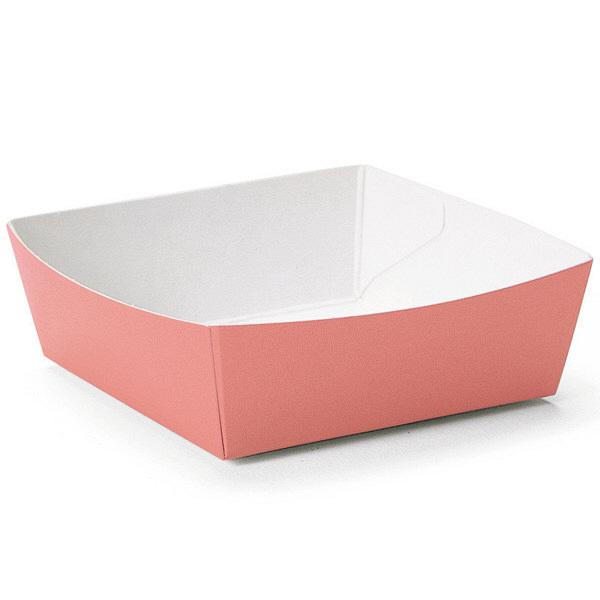 天満紙器 PC-04 カラーココット(ドーンピンク) 4499061 1箱(500枚) (取寄品)