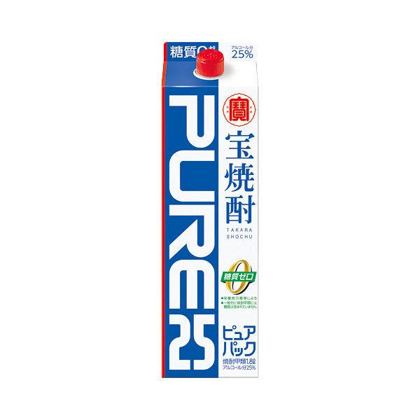 宝焼酎ピュアパック 25度1.8Lパック