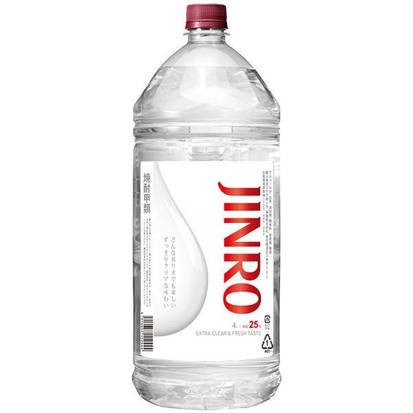 真露 【JINRO】 ジンロ 25度4L