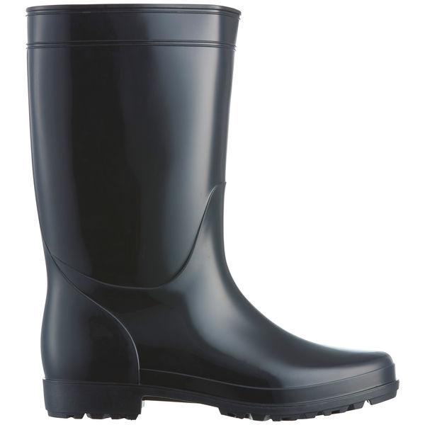 アスクル 「現場のチカラ」 耐油黒長靴 25.0