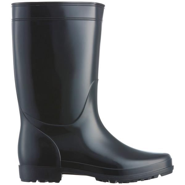 現場のチカラ 耐油黒長靴 27.0