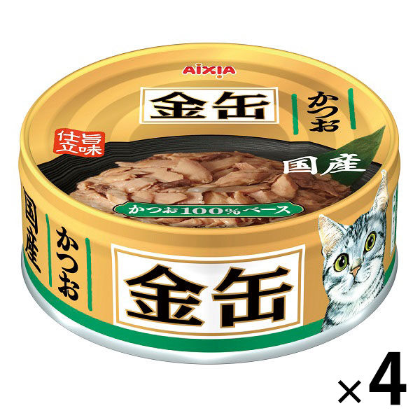 金缶ミニ かつお 70g