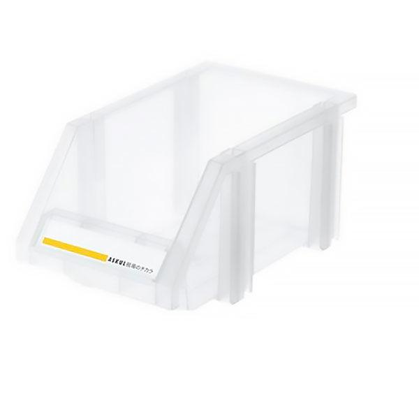 現場のチカラ 組み合わせ収納ボックス クリア S 1セット(8個)