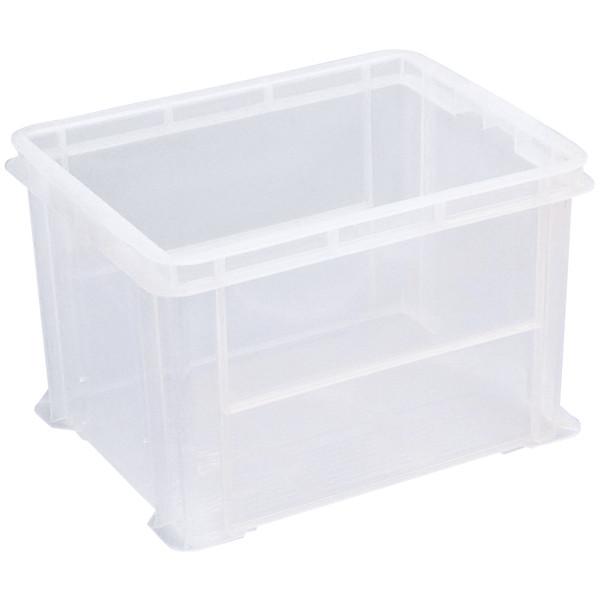 現場のチカラ ASコンテナ 40L クリア 1箱(8個入)