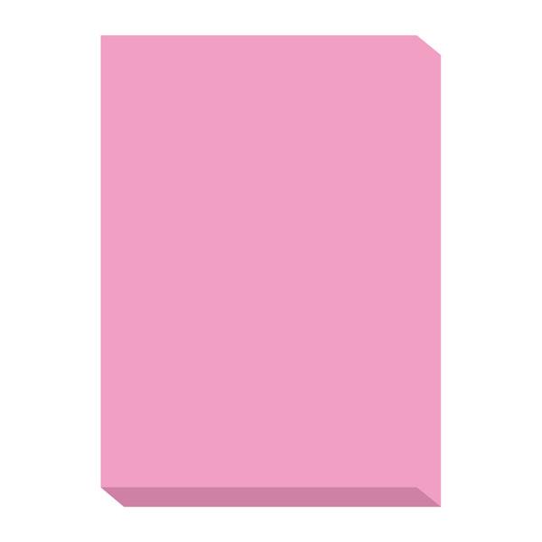 オフィス用紙カラーR100 ピンク A4サイズ OFR100P-A4 1冊(500枚入) 北越紀州製紙