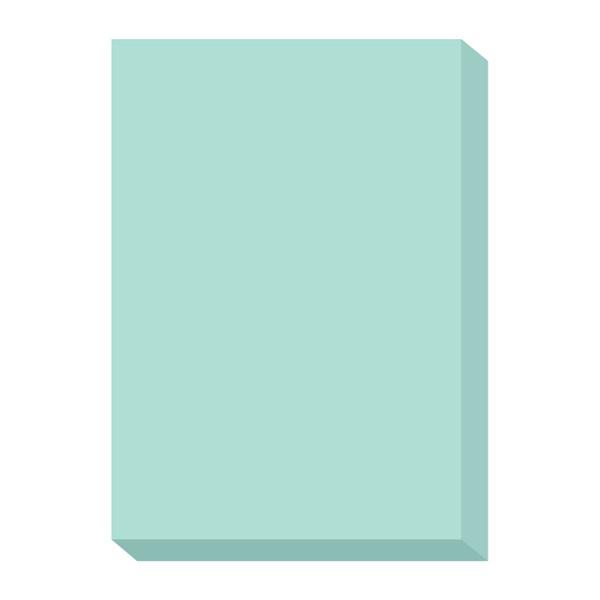 オフィス用紙カラーR100 ブルー A4サイズ OFR100B-A4 1冊(500枚入) 北越紀州製紙