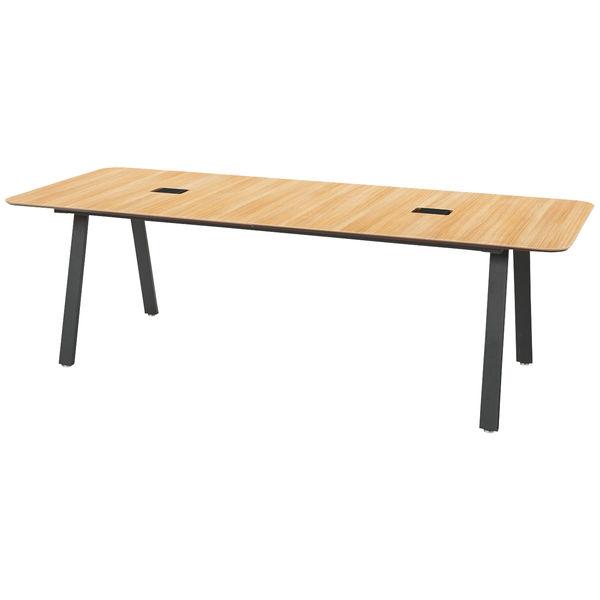 アスクル プラス ダイニングワークテーブル 幅2400 奥行1000 高さ720mm