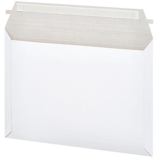 「現場のチカラ」 レターケース (開封テープ有り) 角2 白 無地 1箱(100枚:25枚入×4パック) スーパーバッグ