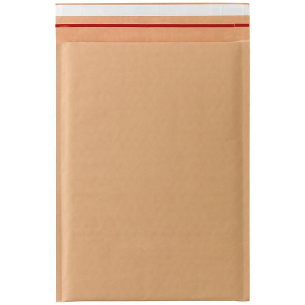 クッション封筒 開封テープ付 A4サイズ用 茶 無地 1箱(100枚入) 今村紙工