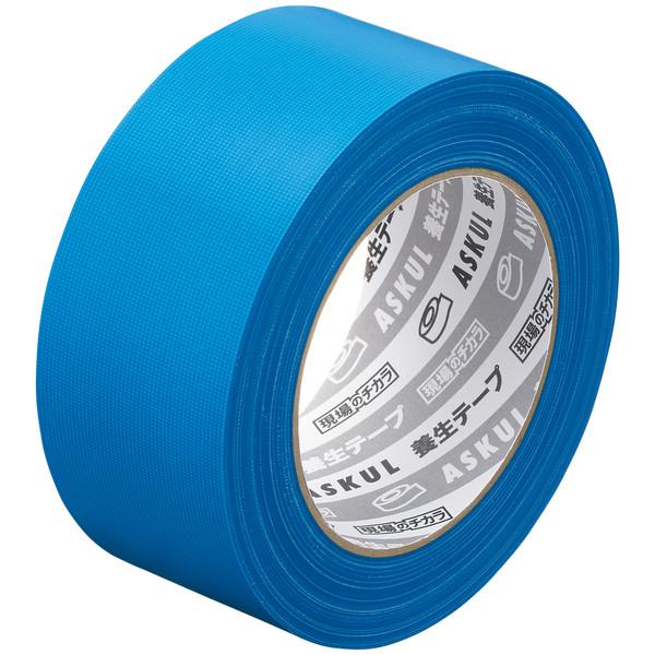アスクル「現場のチカラ」 養生テープ 青 幅50mm×50m巻 1セット(90巻:30巻入×3箱)