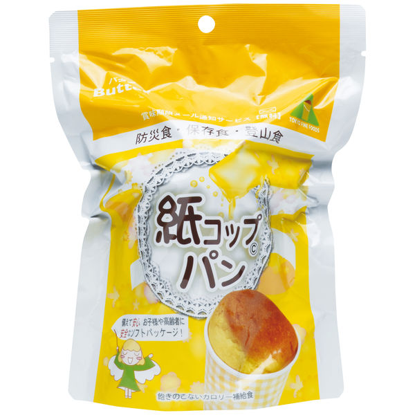 東京ファインフーズ 紙コップパン(バター) KB30 1箱(30袋入)