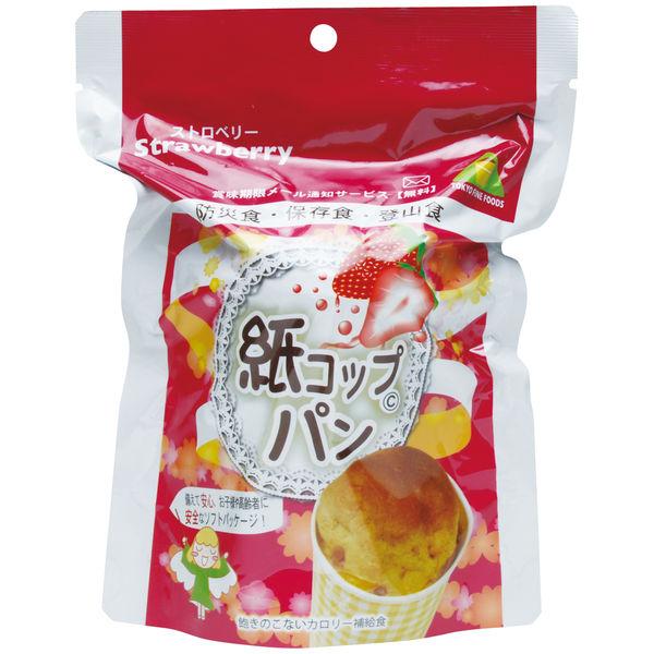 紙コップパン(いちご) 1箱(30袋入)