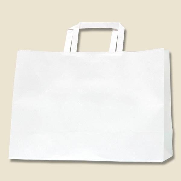 手提げ紙袋 白 50枚