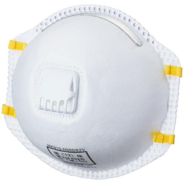 KAWANISHI INDUSTRY(川西工業) 使い捨て 「現場のチカラ」 防塵マスクDS2 排気弁付 AK7066 1箱(10枚入)