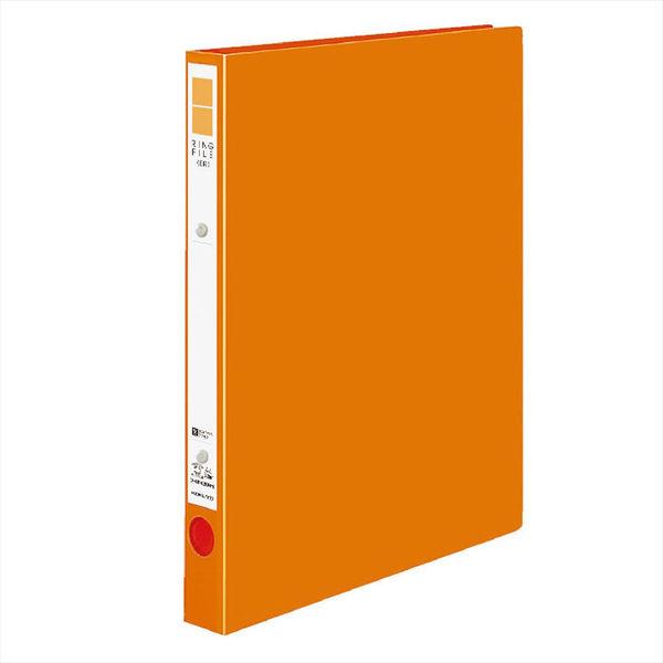 リングファイルA4縦 背幅29mm 橙