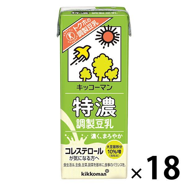 特濃調製豆乳 200ml 18本
