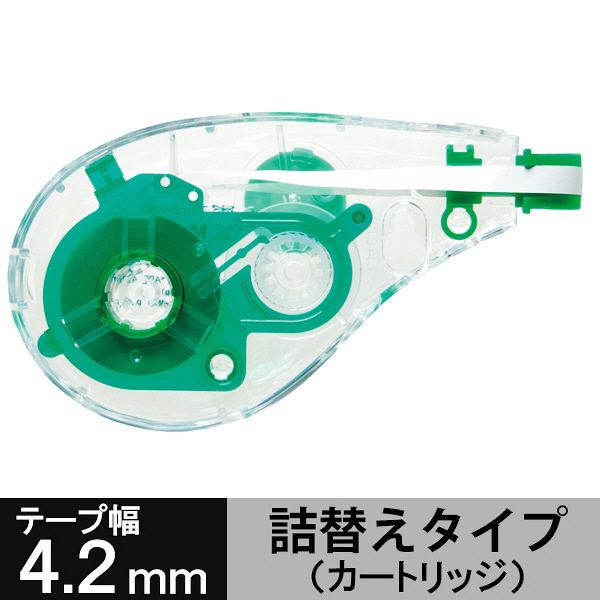 トンボ鉛筆【MONO】修正テープカートリッジ モノエルゴ4 4.2mm幅×10m CT-YURN4 1セット(10個:5個入×2箱)