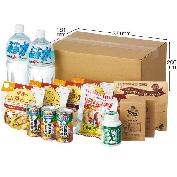栄養たっぷり3日分非常食セット tosho-001 1パック(6セット) 東京都葛飾福祉工場